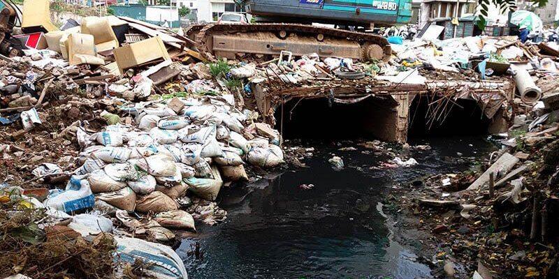 Tác hại nước thải chung cư
