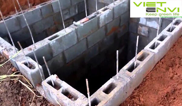Xây dựng bể xử lý nước thải