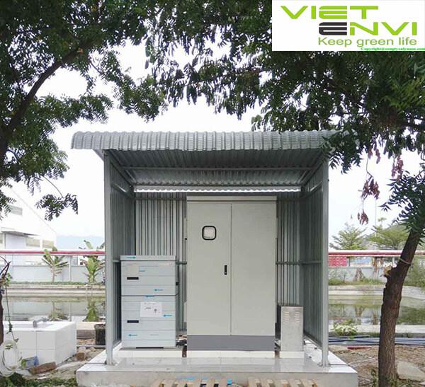 Hệ thống xử lý nước thải quang trắc tự động